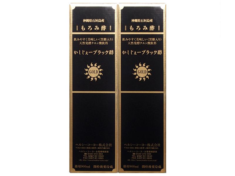 かしじぇーブラック酢 GOLD(2本)